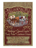 Williamsburg  Virginia - Carriage Tours