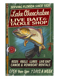 Lake Okeechobee  Florida - Tackle Shop