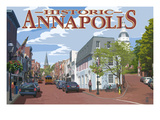 Historic Annapolis  Maryland Street View