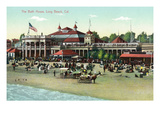 Long Beach  California - Exterior View of the Bath House