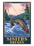 Sisters  Oregon - Fly Fisherman
