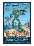 Venice Beach  California - Atlantean Invaders