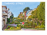 San Francisco  California - Lombard Street