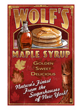 Wolf&#39;s Maple Syrup - New York