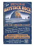 Cannon Beach  Oregon - Haystack Rock