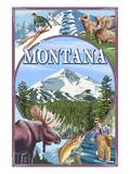 Montana Scenes Montage