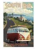 South Bay  California - VW Van Cruise