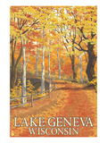 Lake Geneva  Wisconsin - Fall Colors