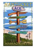Nantucket  Massachusetts - Sign Destinations