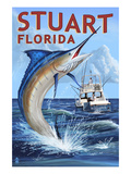 Stuart  Florida - Marlin Fishing Scene
