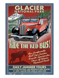 Glacier National Park - Red Jammer