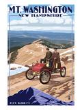Mt Washington Auto Road  New Hampshire - Stanley Locomobile