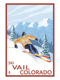 Vail  CO - Downhill Skier