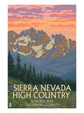 Sierra Nevada High Country - Sonora Pass  Tuolumne County  California - Spring Flowers