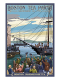 Boston  Massachusetts - Boston Tea Party Scene
