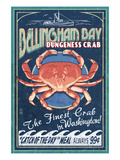 Bellingham  Washington - Dungeness Crab