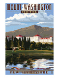 Mount Washington Hotel - Bretton Woods  New Hampshire