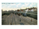 Buffalo  New York - New York Central Train Sheds