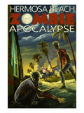Hermosa Beach  California - Zombie Apocalypse