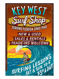 Key West  Florida - Surf Shop