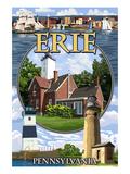 Erie  Pennsylvania - Montage Scenes
