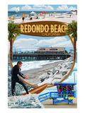 Redondo Beach  California - Montage Scenes
