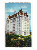 Winnipeg  Manitoba - Fort Garry Hotel Exterior