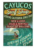 Cayucos  California - Surf Shop