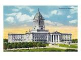 Winnipeg  Manitoba - Parliament Building Exterior