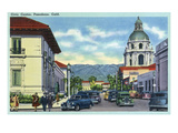Pasadena  California - Civic Centre Scene