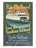 Vashon Island  Washington - Ferry Ride