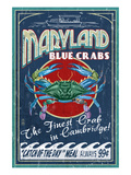 Cambridge  Maryland - Blue Crabs