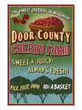 Door County  Wisconsin - Cherry