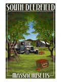 South Deerfield  Massachusetts - Apple Orchard Harvest