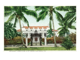 Palm Beach  Florida - Flagler House  Whitehall Exterior View