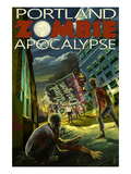 Portland  Oregon - Zombie Apocalypse