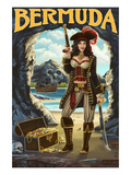 Bermuda - Pirate Pinup Girl