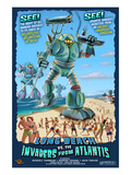 Long Beach  California - Atlantean Invaders
