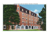 Knoxville  Tennessee - University of Tennessee  Exterior View of Sophronia Strong Hall