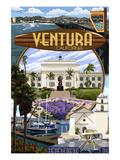 Ventura  California - Montage Scenes