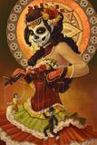 Day of the Dead - Marionettes Reproduction d'art par Lantern Press