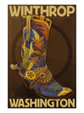 Winthrop  Washington - Boot Design