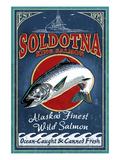 Soldotna  Alaska - Salmon