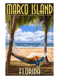 Marco Island  Florida - Hammock Scene