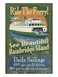 Bainbridge Island  Washington - Ferry Ride