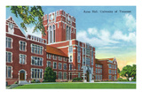 Knoxville  Tennessee - University of Tennessee  Exterior View of Ayres Hall