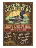 Lake Geneva  Wisconsin - Loon Outfitters