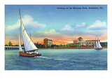 Bradenton  Florida - Sailboat on Manatee River
