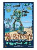 Laguna Beach  California - Atlantean Invaders