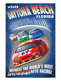 Daytona Beach  Florida - Racecar Scene